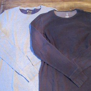 Bundle of Two Tucker + Tate long sleeve shirts
